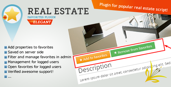CodeCanyon Real Estate Favorites Bookmarks 9939567