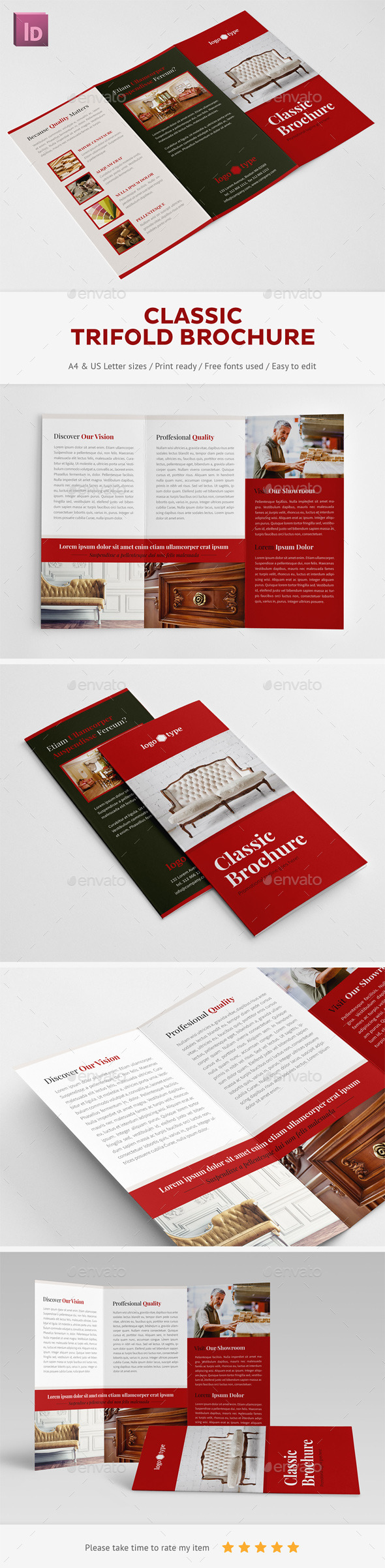 Classic Trifold Brochure