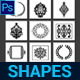 Round Custom Shapes Vol.2 - GraphicRiver Item for Sale