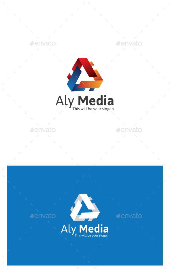 GraphicRiver Aly Media Logo 9939708