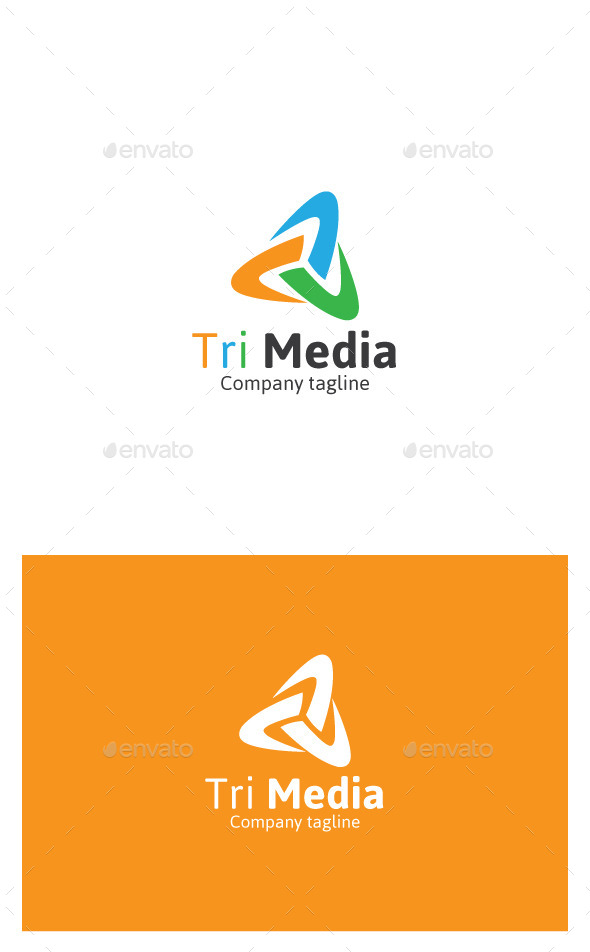 GraphicRiver Tri Studio logo 9939752
