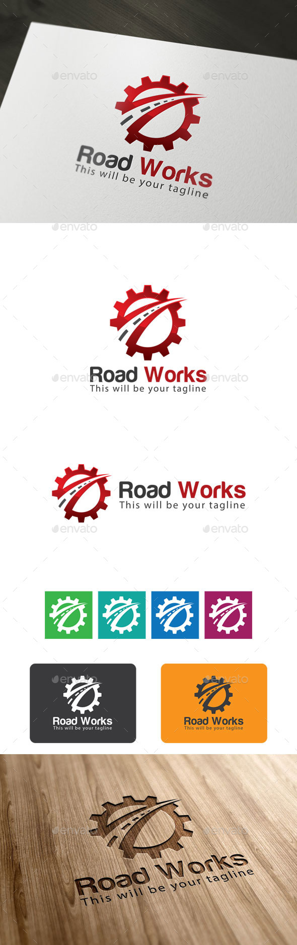 GraphicRiver Road Works 9939773