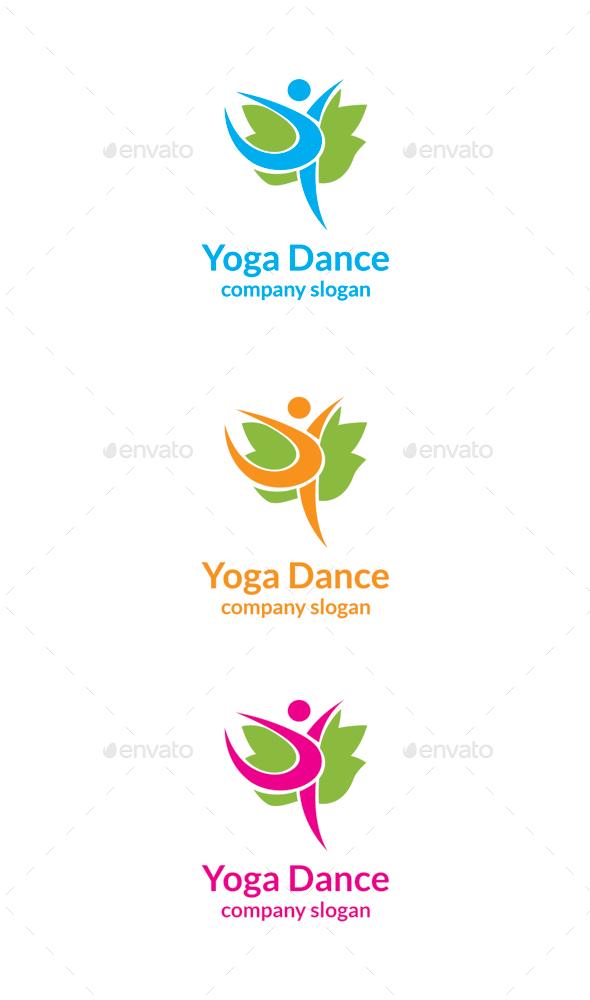 GraphicRiver Yoga Dance 9939781