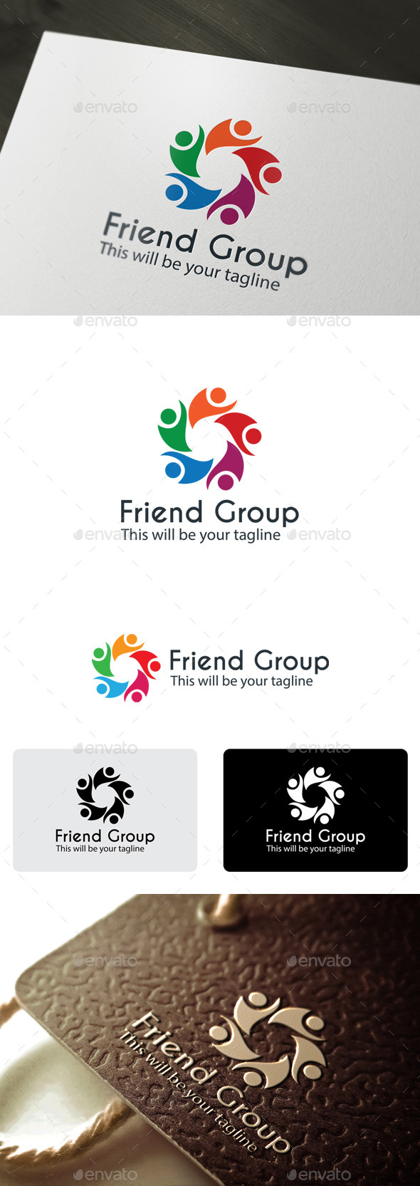 GraphicRiver Friend Group 9939794