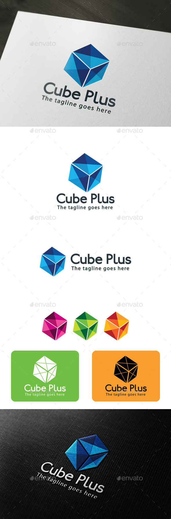 GraphicRiver Cube Plus 9939826