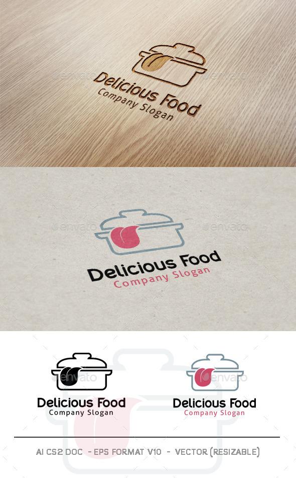 GraphicRiver Delicious Food Logo 9939887
