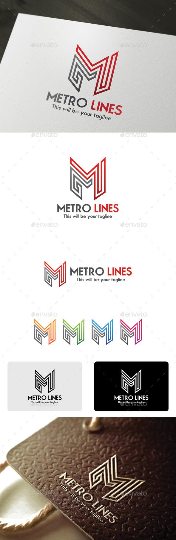 GraphicRiver Metro Lines 9939891