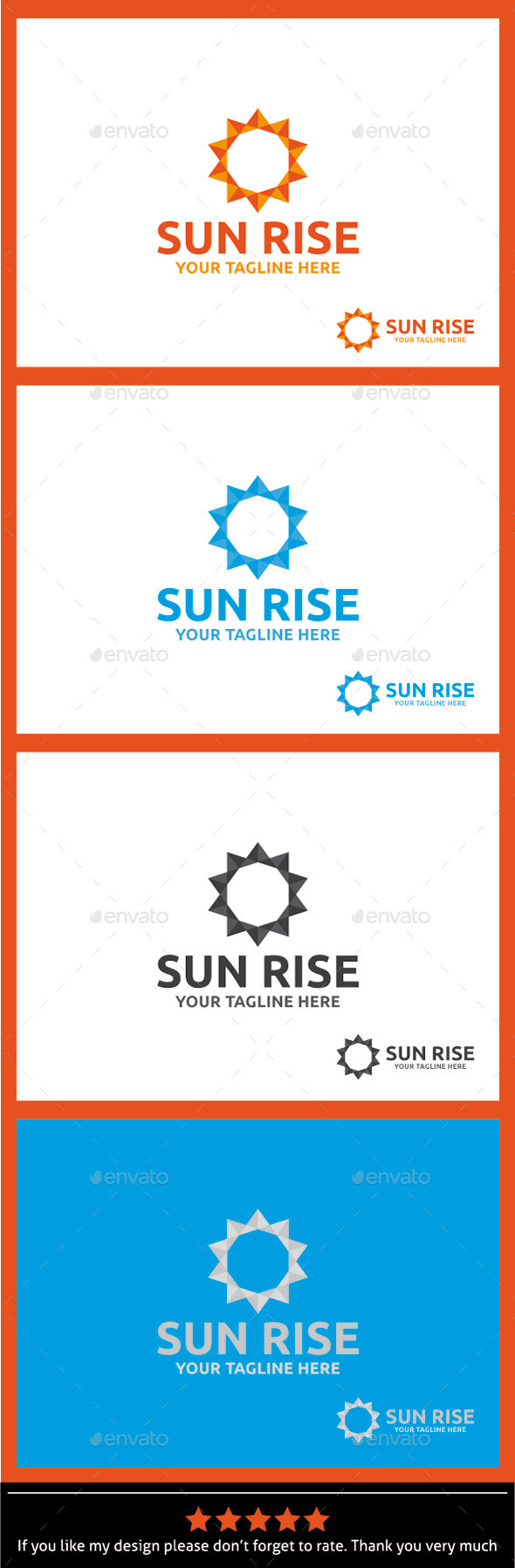 GraphicRiver Sun Rise Logo Template 9940052