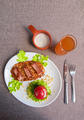 veal meat with bacon - PhotoDune Item for Sale