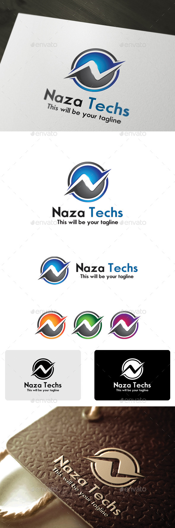 GraphicRiver Naza Techs 9940053