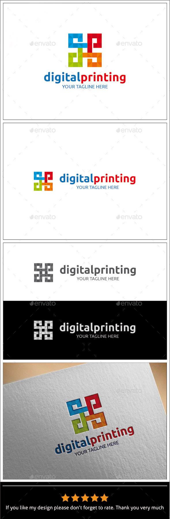 Digital Printing Logo Template