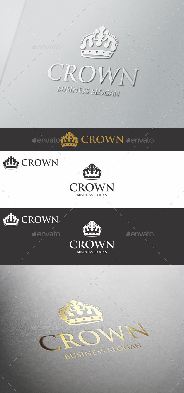 GraphicRiver Crown Logo 9940158