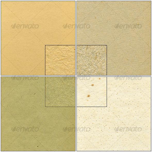GraphicRiver 4 paper textures 126051
