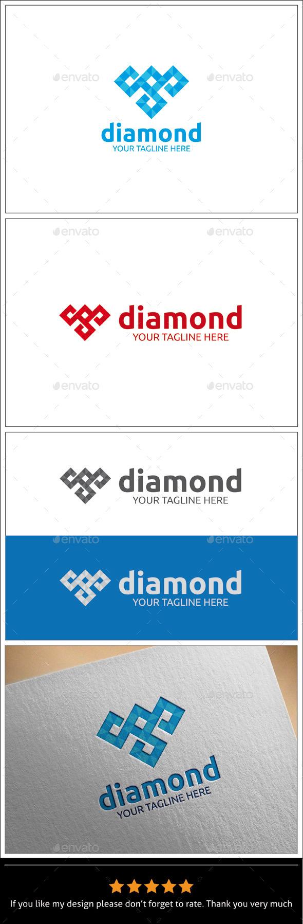 GraphicRiver Diamond v2 Logo Template 9940244