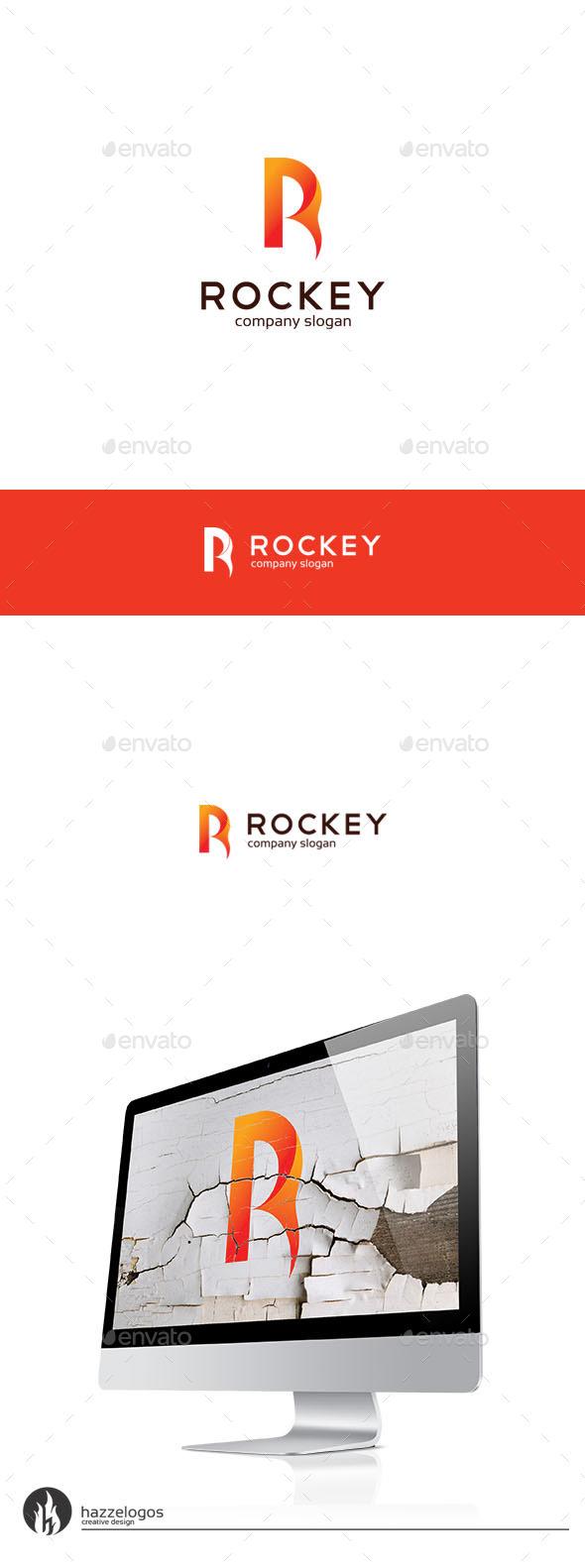 GraphicRiver Rockey Logo 9940373