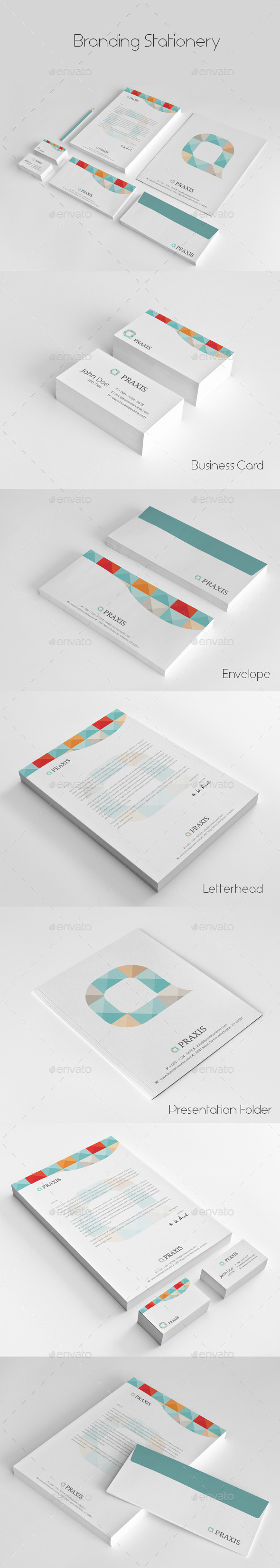 GraphicRiver Branding Stationery 9940601