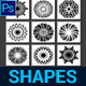 Kaleidoscope Custom Shapes Vol.1 - GraphicRiver Item for Sale