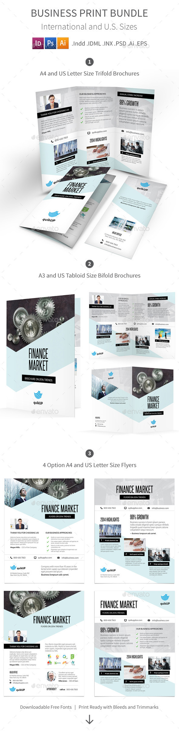 GraphicRiver Business Print Bundle 9941648