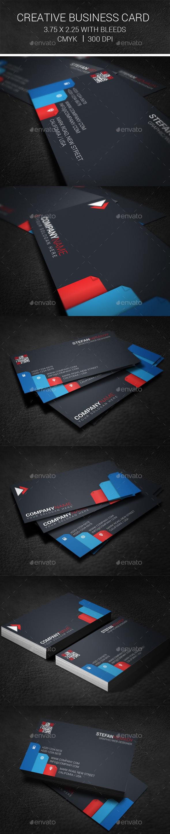 GraphicRiver Creative Business Card 9942413