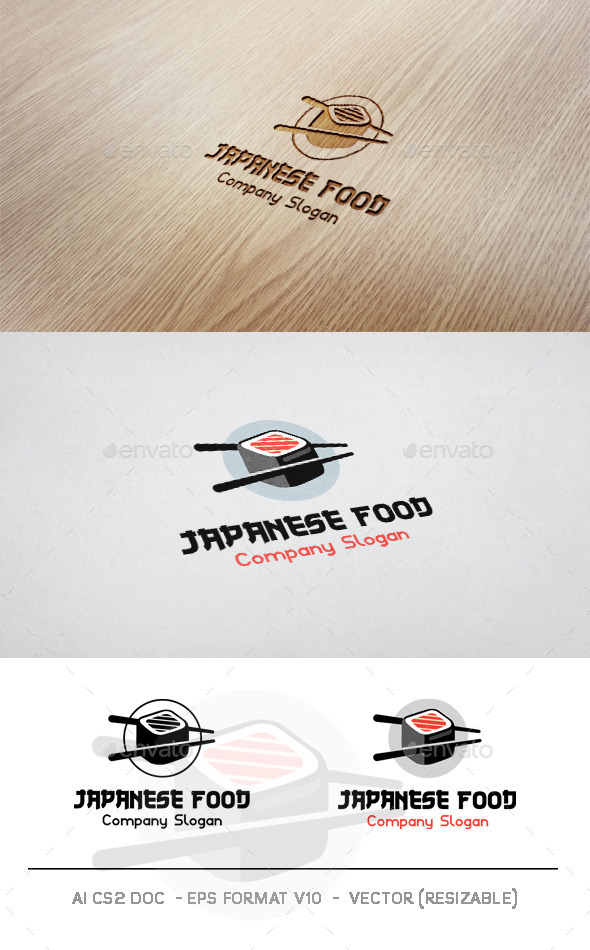 GraphicRiver Japanese Food V2 Logo 9942594