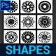 Kaleidoscope Custom Shapes - GraphicRiver Item for Sale
