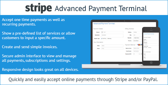CodeCanyon Stripe Advanced Payment Terminal 9942873