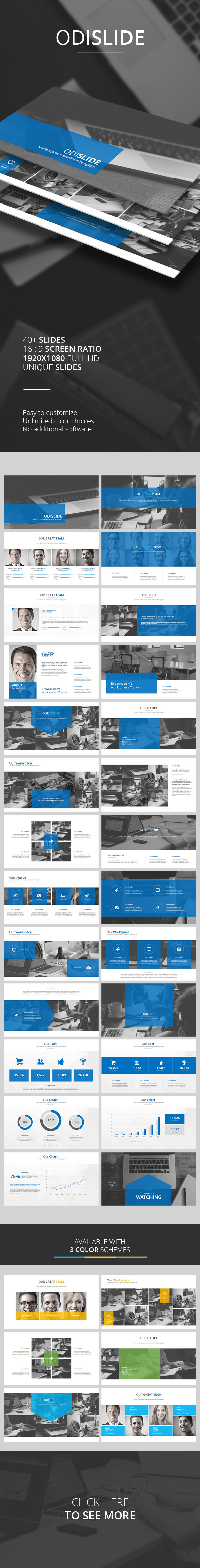 GraphicRiver Odislide PowerPoint Template 9942996