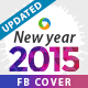 New Year 2015 Facebook Cover - Updated - GraphicRiver Item for Sale