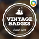 12 Retro Badges - GraphicRiver Item for Sale