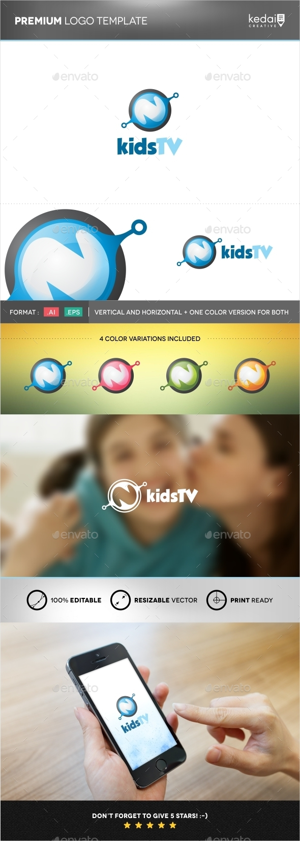GraphicRiver Kids TV 9943194