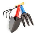 garden tools  on white - PhotoDune Item for Sale