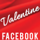 Valentine Party Facebook Cover - GraphicRiver Item for Sale