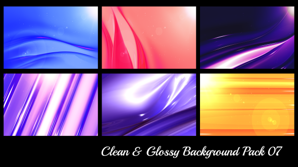 Clean & Glossy Background Pack 07