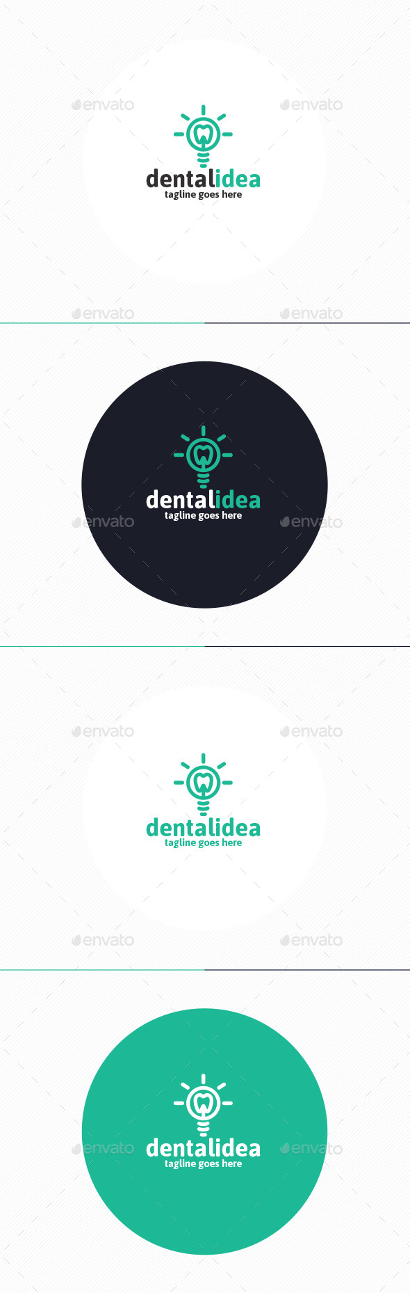 GraphicRiver Dental Idea Logo 9944756
