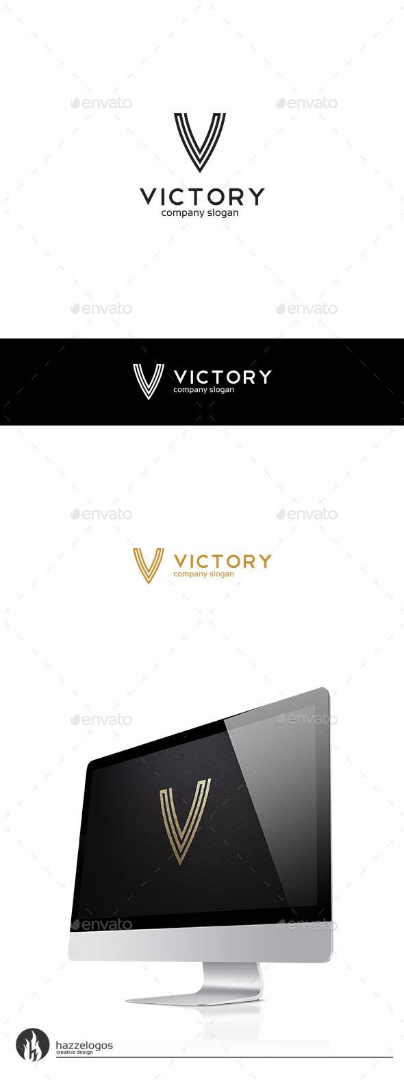 GraphicRiver Victory Logo 9944812