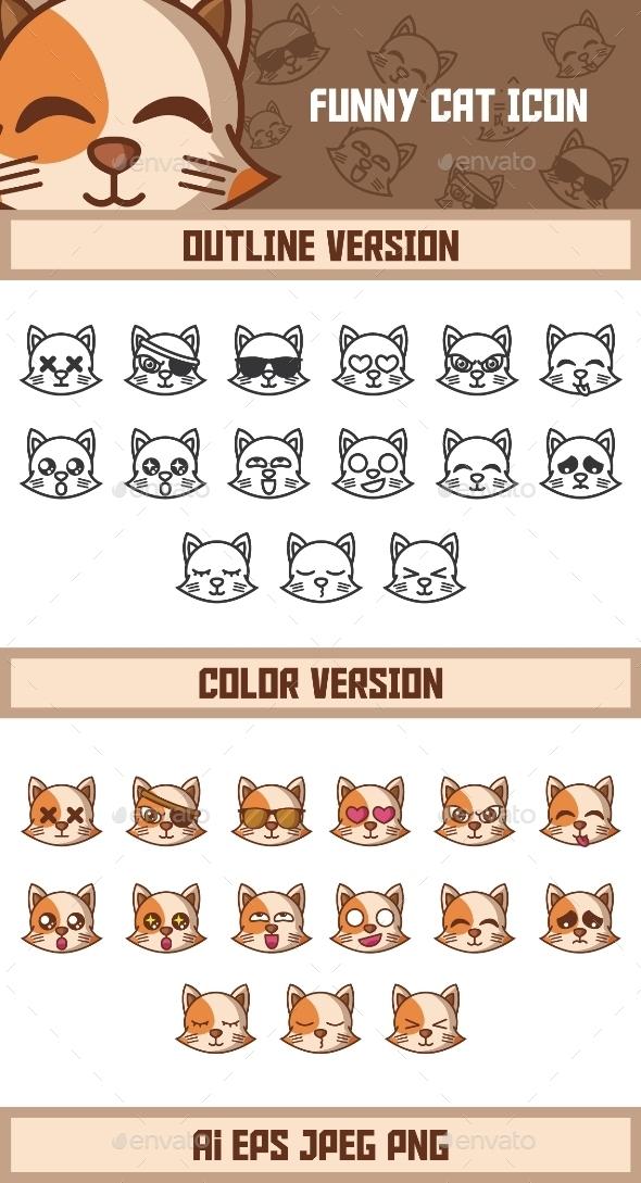 GraphicRiver Funny Cat 9945335