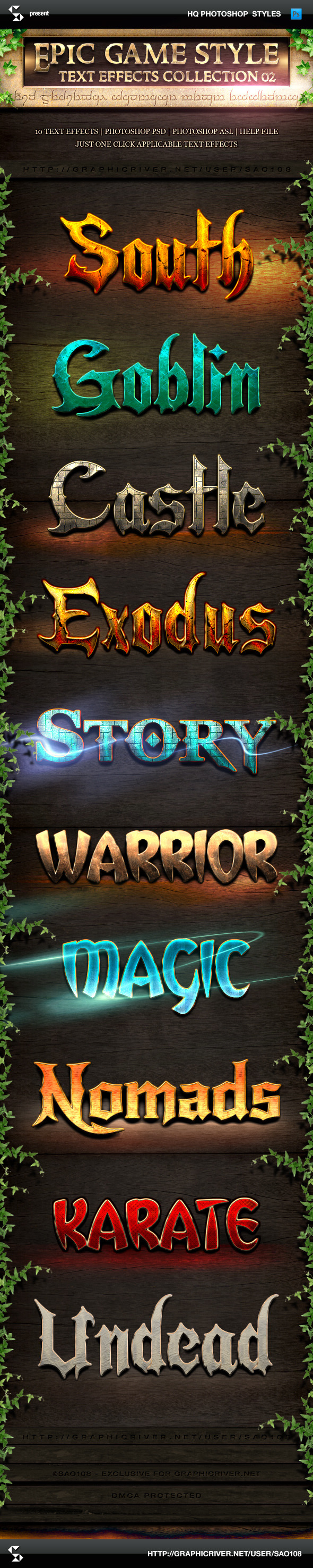 Epic Game Style Text Effects Collection 2