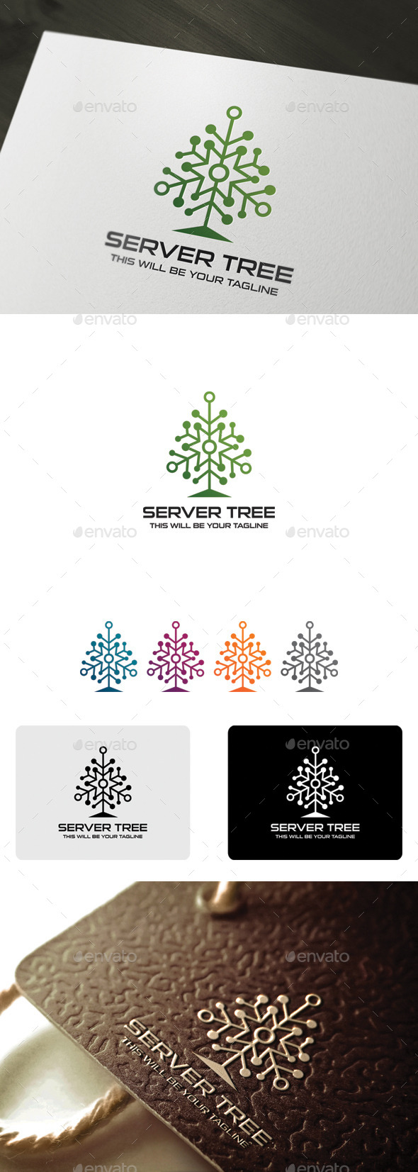 GraphicRiver SERVER TREE 9945860