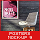 Posters Mock-Up Vol.9 - GraphicRiver Item for Sale