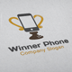 Winner Phone Logo - GraphicRiver Item for Sale
