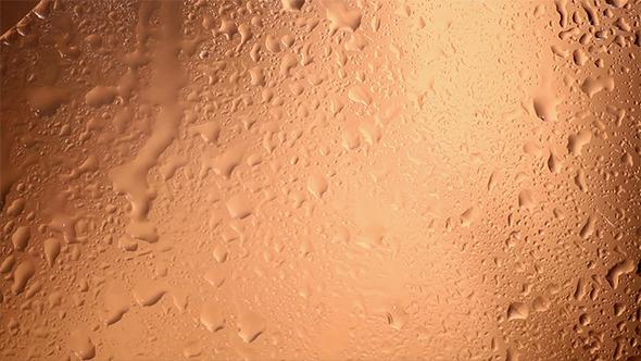 Water Drops Splatter On Glass 301