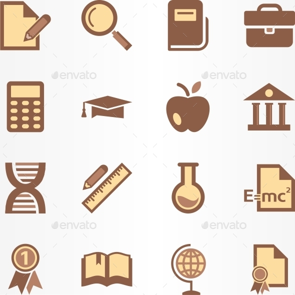 GraphicRiver Education Icon 9946357