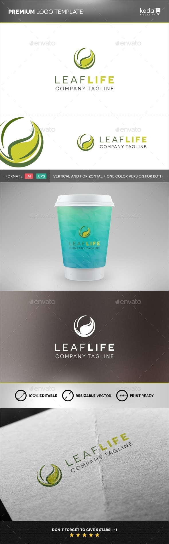 GraphicRiver Leaf Life 9946438