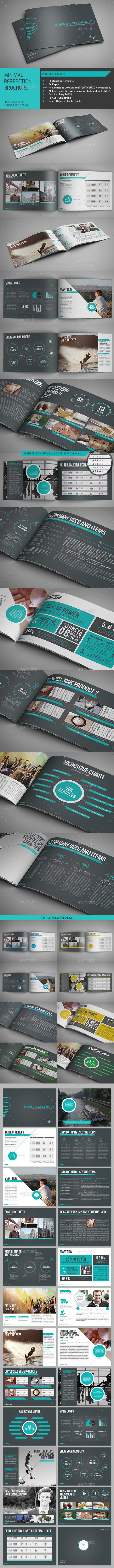 GraphicRiver Minimal Perfection Brochure 9934951