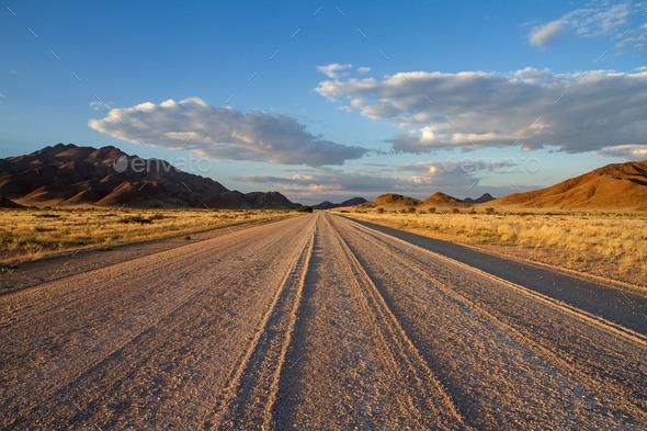 Dirt road, Namibia