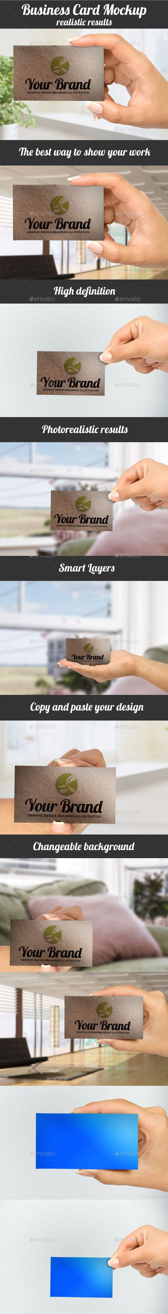 GraphicRiver Business Cards Mockup Pack 9947046