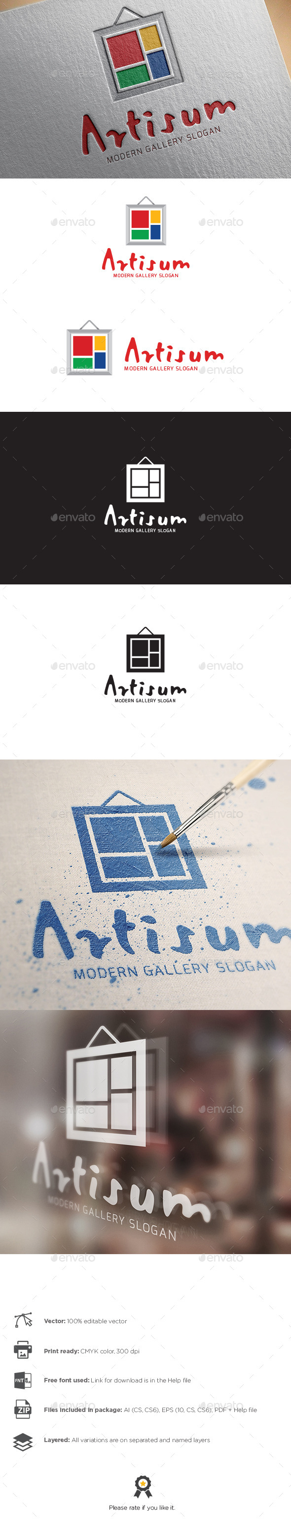 GraphicRiver Gallery Logo 9947937