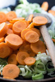 Closeup of Sliced Vegetables - PhotoDune Item for Sale