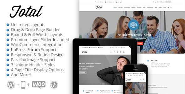 Total Responsive Multi-Purpose WordPress Theme