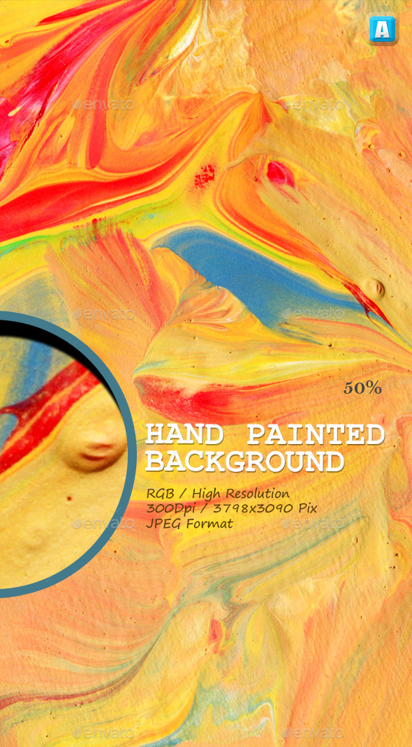GraphicRiver Hand Painted Background 0021 9912219